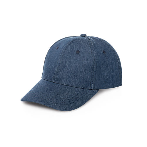 Baseball-Cap aus Denim in blau